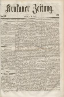 Krakauer Zeitung.[Jg.1], Nro. 224 (2 October 1857)