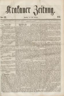 Krakauer Zeitung.[Jg.1], Nro. 237 (17 October 1857) + dod.