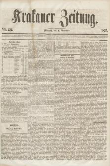 Krakauer Zeitung.[Jg.1], Nro. 252 (4 November 1857)