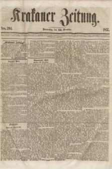 Krakauer Zeitung.[Jg.1], Nro. 294 (24 December 1857)