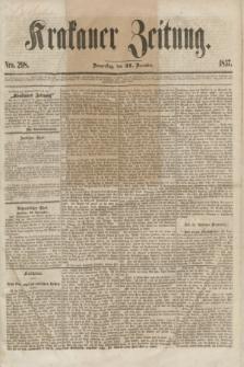 Krakauer Zeitung.[Jg.1], Nro. 298 (31 December 1857)