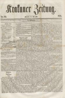 Krakauer Zeitung.Jg.2, Nro. 112 (19 Mai 1858)