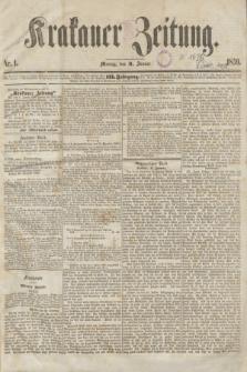 Krakauer Zeitung.Jg.3, Nr. 1 (3 Januar 1859)