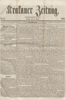 Krakauer Zeitung.Jg.3, Nr. 4 (7 Januar 1859)