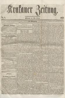 Krakauer Zeitung.Jg.3, Nr. 8 (12 Januar 1859)