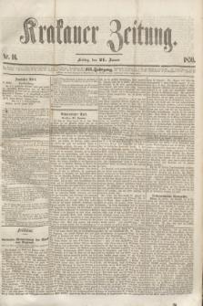 Krakauer Zeitung.Jg.3, Nr. 16 (21 Januar 1859)