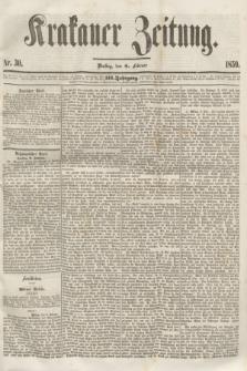 Krakauer Zeitung.Jg.3, Nr. 30 (8 Februar 1859) + dod.