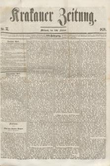 Krakauer Zeitung.Jg.3, Nr. 37 (16 Februar 1859)