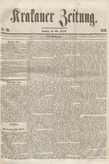 Krakauer Zeitung.Jg.3, Nr. 40 (19 Februar 1859) + dod.