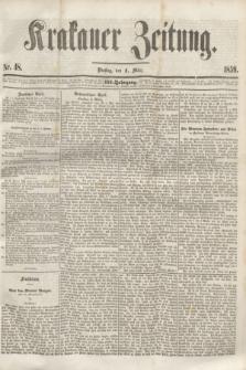 Krakauer Zeitung.Jg.3, Nr. 48 (1 März 1859)