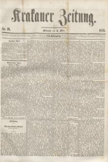 Krakauer Zeitung.Jg.3, Nr. 49 (2 März 1859)
