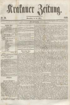 Krakauer Zeitung.Jg.3, Nr. 50 (3 März 1859) + dod.