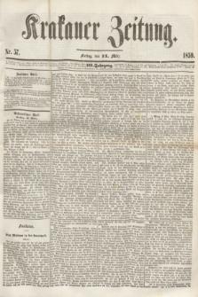 Krakauer Zeitung.Jg.3, Nr. 57 (11 März 1859) + dod.
