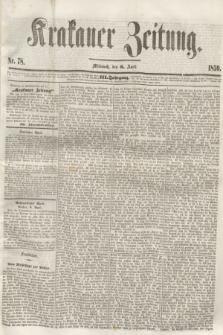 Krakauer Zeitung.Jg.3, Nr. 78 (6 April 1859)