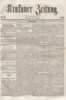 Krakauer Zeitung.Jg.3, Nr. 79 (7 April 1859)