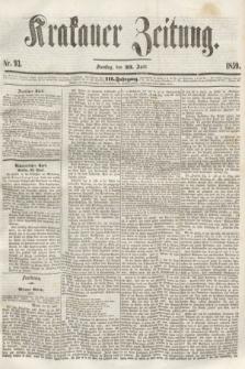Krakauer Zeitung.Jg.3, Nr. 93 (23 April 1859)