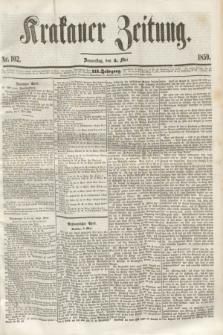 Krakauer Zeitung.Jg.3, Nr. 102 (5 Mai 1859)