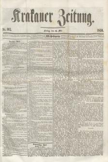 Krakauer Zeitung.Jg.3, Nr. 103 (6 Mai 1859)