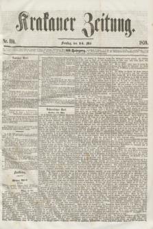 Krakauer Zeitung.Jg.3, Nr. 110 (14 Mai 1859)