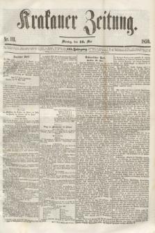 Krakauer Zeitung.Jg.3, Nr. 111 (16 Mai 1859)