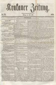 Krakauer Zeitung.Jg.3, Nr. 112 (17 Mai 1859)