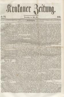 Krakauer Zeitung.Jg.3, Nr. 114 (19 Mai 1859)
