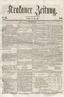 Krakauer Zeitung.Jg.3, Nr. 116 (21 Mai 1859) + dod.