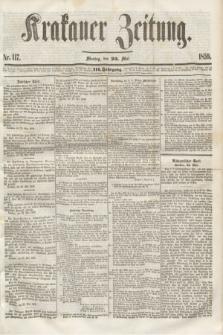 Krakauer Zeitung.Jg.3, Nr. 117 (23 Mai 1859)