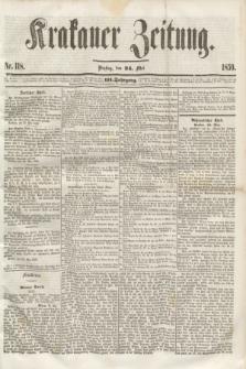 Krakauer Zeitung.Jg.3, Nr. 118 (24 Mai 1859)