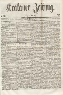 Krakauer Zeitung.Jg.3, Nr. 121 (27 Mai 1859) + dod.