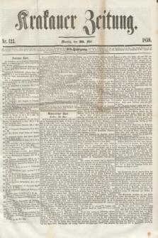 Krakauer Zeitung.Jg.3, Nr. 123 (30 Mai 1859) + dod.