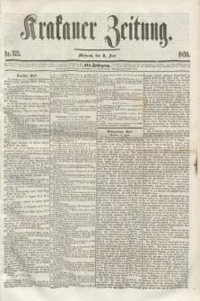 Krakauer Zeitung.Jg.3, Nr. 125 (1 Juni 1859)
