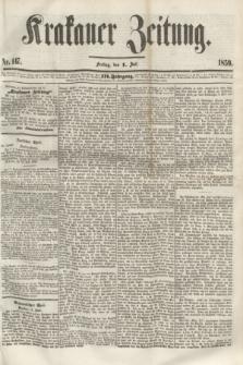 Krakauer Zeitung.Jg.3, Nr. 147 (1 Juli 1859)