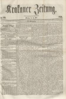 Krakauer Zeitung.Jg.3, Nr. 149 (4 Juli 1859)