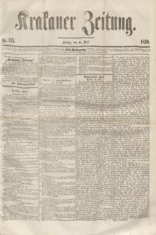 Krakauer Zeitung.Jg.3, Nr. 153 (8 Juli 1859)