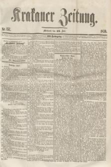 Krakauer Zeitung.Jg.3, Nr. 157 (13 Juli 1859)