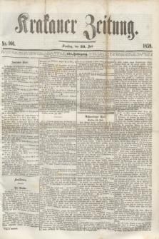 Krakauer Zeitung.Jg.3, Nr. 166 (23 Juli 1859)