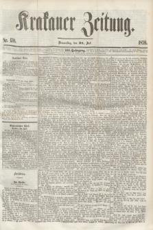 Krakauer Zeitung.Jg.3, Nr. 170 (28 Juli 1859) + dod.