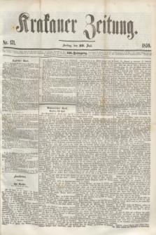 Krakauer Zeitung.Jg.3, Nr. 171 (29 Juli 1859) + dod.