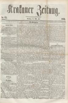 Krakauer Zeitung.Jg.3, Nr. 172 (30 Juli 1859) + dod.