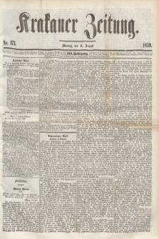 Krakauer Zeitung.Jg.3, Nr. 173 (1 August 1859)