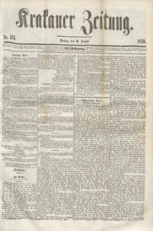 Krakauer Zeitung.Jg.3, Nr. 174 (2 August 1859)