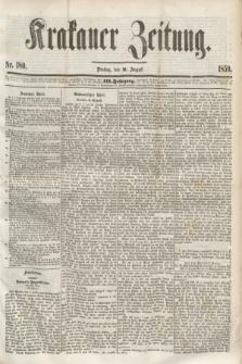 Krakauer Zeitung.Jg.3, Nr. 180 (9 August 1859) + dod.