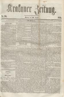 Krakauer Zeitung.Jg.3, Nr. 196 (29 August 1859)