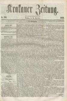 Krakauer Zeitung.Jg.3, Nr. 201 (3 September 1859)