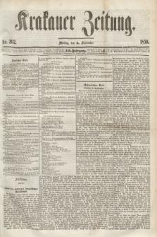 Krakauer Zeitung.Jg.3, Nr. 202 (5 September 1859)