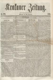 Krakauer Zeitung.Jg.3, Nr. 209 (14 September 1859) + dod.