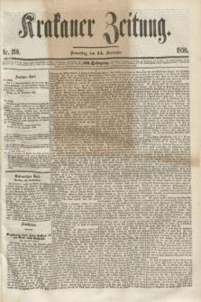 Krakauer Zeitung.Jg.3, Nr. 210 (15 September 1859) + dod.
