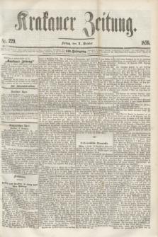Krakauer Zeitung.Jg.3, Nr. 229 (7 October 1859)