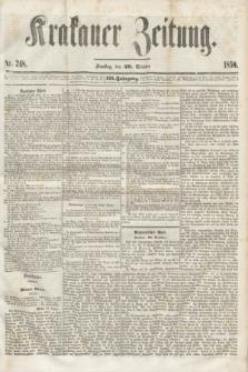 Krakauer Zeitung.Jg.3, Nr. 248 (29 October 1859)